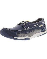 Rockport - Barefoot 2 Eye Boat Shoe- - Lyst