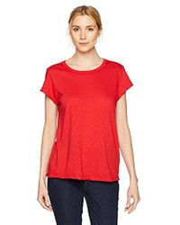 Michael Stars - Supima Cotton Slub Short Sleeve Crew Neck Tee - Lyst