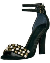 Guess - Petunia2 Heeled Sandal - Lyst