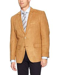 G.H. Bass & Co. - Classic Fit Poly Suede Blazer Sportcoat - Lyst