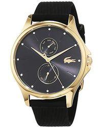 674caf1e24 Lacoste - Cadrans Quartz Montres bracelet avec bracelet en Silicone - - Lyst