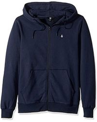Volcom - Single Stone Zip Up Fleece - Lyst