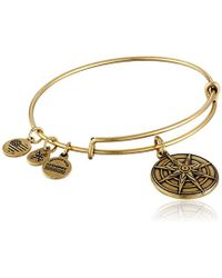 ALEX AND ANI - Star Of Venus Iii Expandable Rafaelian Bangle Bracelet - Lyst