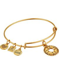 ALEX AND ANI - Charity By Design Life Preserver Bangle Bracelet - Lyst