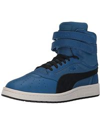 PUMA - Sky Ii Hi Color Blocked Lthr Sneaker - Lyst