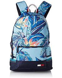 Tommy Hilfiger - Escape Backpack Floral, 's Backpack, Blue (floral Print), 13x47x34 Cm (b X H T) - Lyst