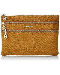 Desigual - 's Mone_aquiles_multi Zip Wallet - Lyst