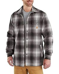 492301f2b6 Lyst - Levi s Thorton Flannel Long Sleeve Woven Shirt W  Black ...