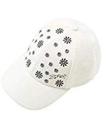 Esprit - Accessoires 078ea1p002 Baseball Cap (white 110), One (manufacturer Size: 1size) - Lyst