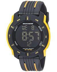 Skechers - Quartz Plastic Casual Watchmulti Color (model: Sr5098) - Lyst