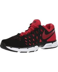 761839c0 Nike Air Trainer 180 Anthracite-gym Red-black-white 916460-060 Cross ...
