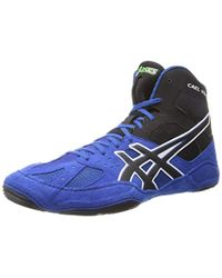 Lyst - Asics Cael V6.0 Wrestling Shoe in Blue for Men 37e8f067f