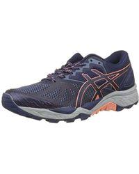 cf7cd736ef7 Asics Gel-fujitrabuco 7 Trail Running Shoes in Black - Lyst