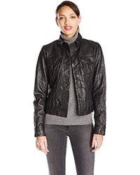 True Religion - Dusty Western Leather Jacket - Lyst