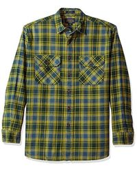 Pendleton - Long Sleeve Button Front Burnside Shirt - Lyst