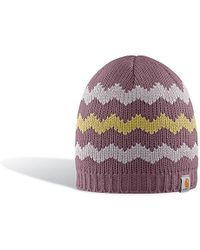 Carhartt - Chunky Zig Zag Hat - Lyst