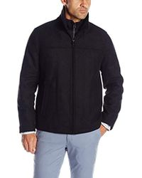Dockers - Logan Wool Blend Open Bottom Bib Jacket - Lyst
