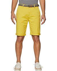 Esprit - 039ee2c001 Pantalones Cortos Amarillo (Lime Yellow 760) 56 (Talla del Fabricante: 36) para Hombre - Lyst
