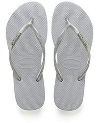 Havaianas - Slim Logo Metallic, 's Flip Flops - Lyst