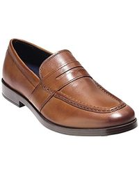 3c07f5e4cf4 Lyst - Peter Millar Jefferson Suede Driver in Brown for Men