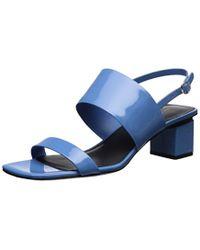 Via Spiga - Forte Block Heel Heeled Sandal - Lyst