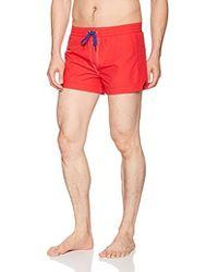DIESEL BMBX-Seaside-s Short Homme - Rouge