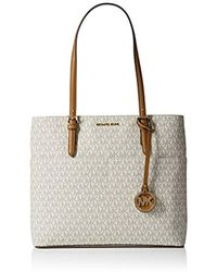 51462ab8b072 Michael Kors Jaryn Tote in Natural - Lyst