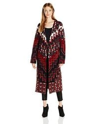 Mara Hoffman - Rug Knit Sweater Coat - Lyst