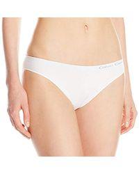 CALVIN KLEIN 205W39NYC - Pure Seamless Bikini Underwear - Lyst