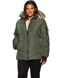 Madden Girl - Plus Size Puffer Jacket - Lyst