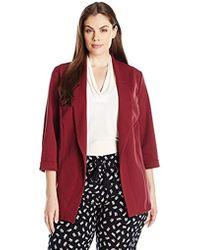 New Look - Plus-size Riverpool Blazer - Lyst