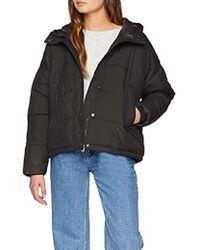 Vero Moda Vmscarf Puffer Short Jacket Ki - Gray