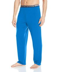 Emporio Armani - Stretch Modal Lounge Pant - Lyst