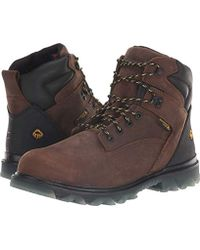 0a7d1486dd7 Wolverine I-90 Epx 8'' Composite Toe Construction Boot in Brown for ...
