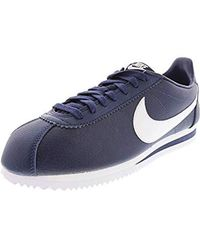 save off 1d925 b26e4 Nike 's Classic Cortez Se Competition Running Shoes in Black ...