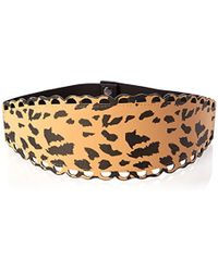 Betsey Johnson - Scalloped Stretch Belt - Lyst