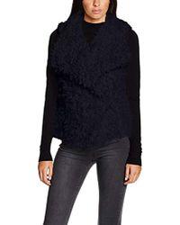 Vero Moda - Vmjayla Fake Fur Waistcoat Gilet - Lyst
