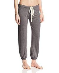 Eberjey - Heather Cropped Pant - Lyst