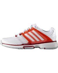 Adidas Barricade Team 4 Herren Tennisschuhe GrauSilber