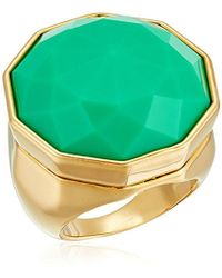 Trina Turk - Large Facetted Stone Ring, Size 7 - Lyst