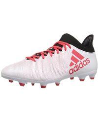 21b4b8974c01 adidas X 17.3 Fg Soccer Shoe,tactile Gold/core Black/solar Red,13.5 ...