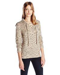 Kensie - Novelty Fuzzy Yarn Sweater - Lyst