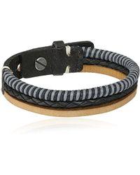 "Fossil - Vintage Casual Multi-tone Strand Bracelet, 8.5"" - Lyst"