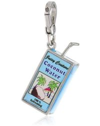 """Juicy Couture - Jewelry Spring Delivery 3 Charm Necklaces Coconut Water Charm Necklace, 12.7"""" - Lyst"""