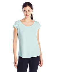Columbia - See Through You Burnout Ii Tee - Lyst