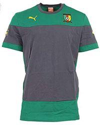new concept 06fa4 b887a Cameroon Training Jersey Gr. Xl Kamerun Trikot Soccer Grün