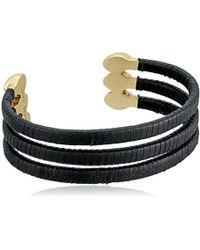 Rebecca Minkoff Tubular Wrapped Cuff Bracelet 3jAUO79