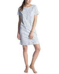 CALIDA - Cosy Cotton Style, Camicia da Notte Donna - Lyst