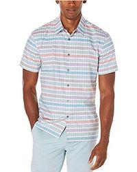 Perry Ellis - Horizontal Stripe Shirt - Lyst