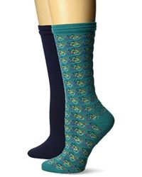 Dr. Scholls - 2 Pack Scrub Heart And Solid Crew Socks - Lyst